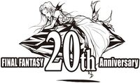 Logo Final Fantasy 20th Anniversary