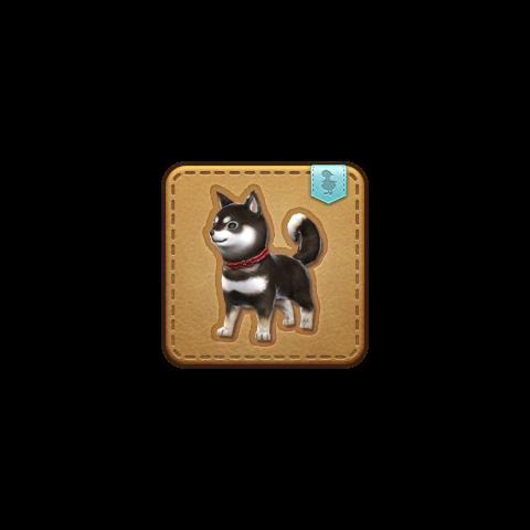 La mascota Black Hayate obtenible en Holminster Switch.