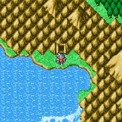 Cascada Sémit en el Mapamundi (GBA)