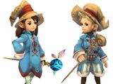 Lista de trabajos de Final Fantasy Crystal Chronicles: My Life as a King