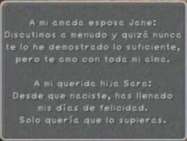 Mensaje para Jane FFIX