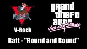 "GTA Vice City Stories - V-Rock Ratt - ""Round and Round"""