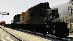 Freight Destruido GTAO