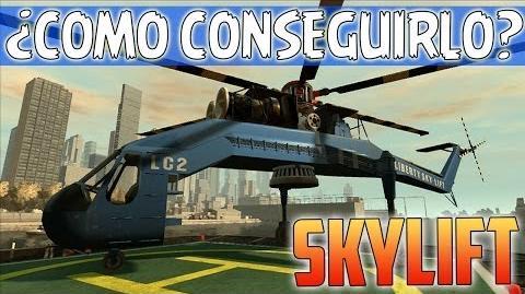 GTA The Ballad Of Gay Tony - Como conseguir el Skylift (Helicóptero Grúa) - Recomendaciones