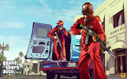 Official Gta V Artwork Pest Control