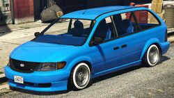 Minivan-lowrider gtao