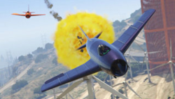 GTA Online Combate aéreo VII