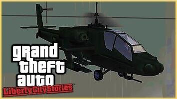 GTA Liberty City Stories - How to get the Unique AP Hunter Helicopter