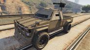 Technical Custom tuneada en GTA Online