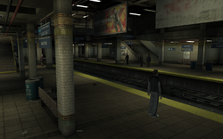 East Park Station GTA IV