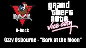 "GTA Vice City - V-Rock Ozzy Osbourne - ""Bark at the Moon"""