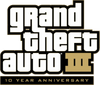 GTA III 10° aniversario logo