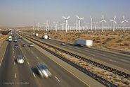 San Georgino Pass Wind farm