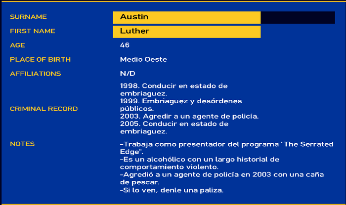 Luther austin LCPD