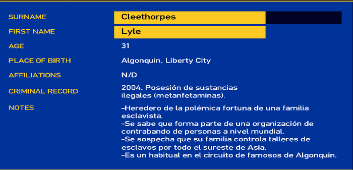 Lyle cleethorpes LCPD