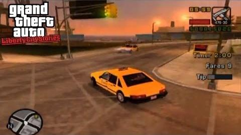 Taxi Driver - GTA Liberty City Stories Side-Mission