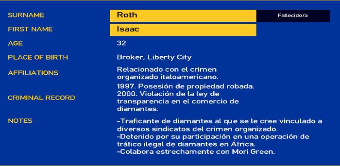 Isaac roth