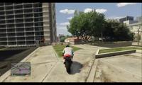 Salto acrobático GTA V - 18m