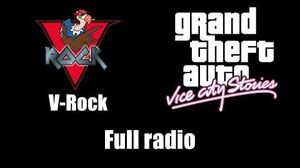 GTA Vice City Stories - V-Rock Full radio