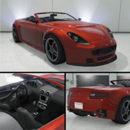 Rapid GT convertible LMS