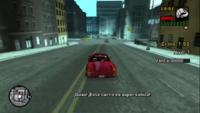 Vendedor de coches GTA LCS Viaje rápido