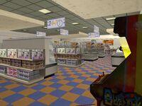 Interior de 69 Cents Stores