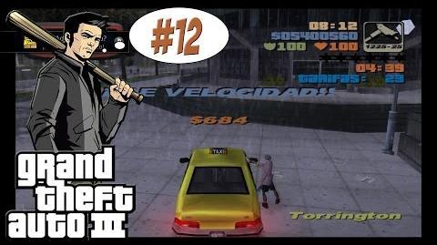 GTA3 12 ¿A dónde le llevo? (Misiones de Taxi) PS4