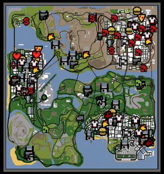 Bug mapa gta todo explorado