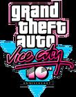 Logo GTA VC Décimo Aniversario
