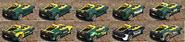 Locust GTA Online Cubiertas Atrás
