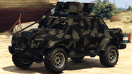 Furgoneta Insurgent personalizada venta de armas GTA Online