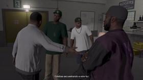 Franklin, Lamar, Stretch y D