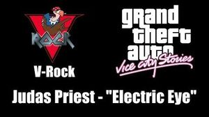 "GTA Vice City Stories - V-Rock Judas Priest - ""Electric Eye"""