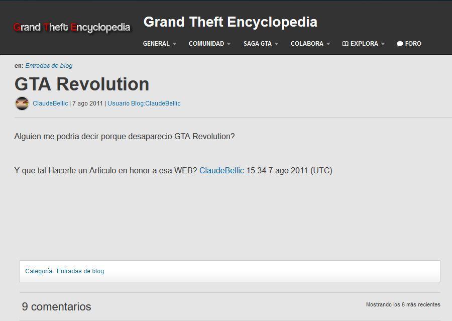 GTA Revolution