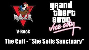 "GTA Vice City - V-Rock The Cult - ""She Sells Sanctuary"""