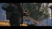 Minigun GTA V trailer