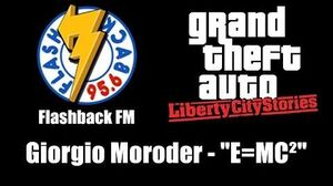 "GTA Liberty City Stories - Flashback FM Giorgio Moroder - ""E=MC²"""