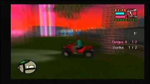GTA VCS PS2 MISIÓN 12 QUEDADA DONDE LOS QUADS