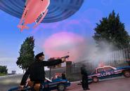 Version Beta del LCPD en GTA III