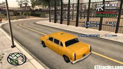 GTA San Andreas - Misiones de Taxista (Taxi Driver) - 50 tarifas