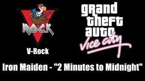 "GTA Vice City - V-Rock Iron Maiden - ""2 Minutes to Midnight"""