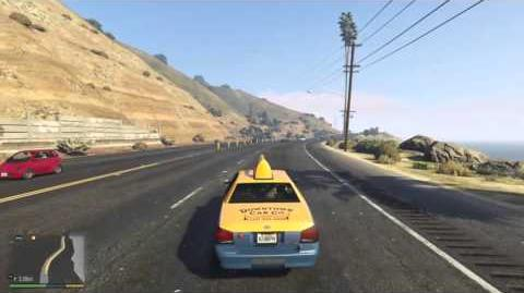 Grand Theft Auto El trabajo del taxi