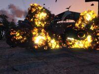 Explosión GTA V