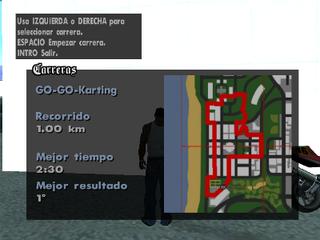 Mapa del recorrido de GO-GO-Karting