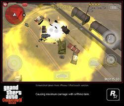 Grand Theft Auto Chinatown Wars iPod iPhone