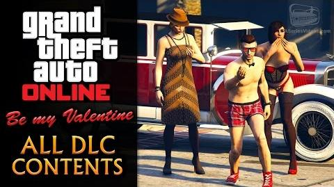 GTA Online Be My Valentine Update -All DLC Contents-