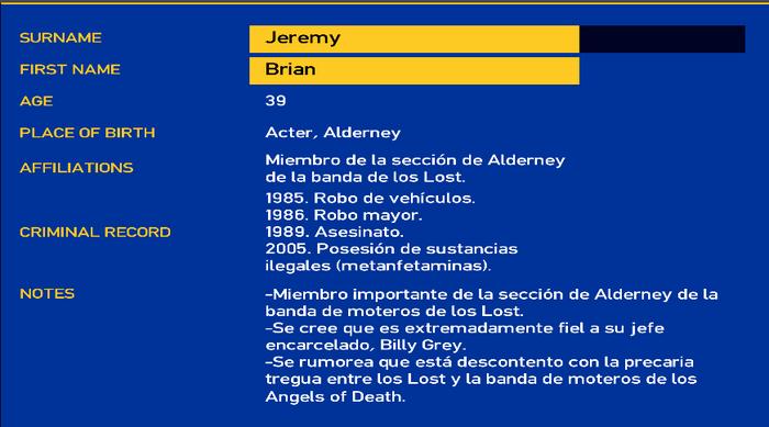 Brian jeremy