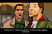 Heston conociendo a Huang