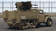 Halftrack-GTAO-Cañón-customizado 20mm-atrás