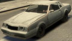 Sabre destruido GTA IV